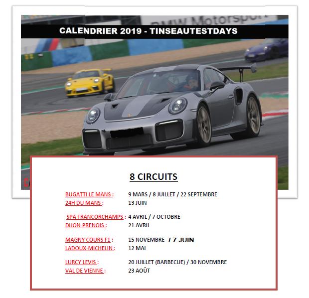 Circuit Val De Vienne Calendrier 2019.Tinseau Calendrier 2019